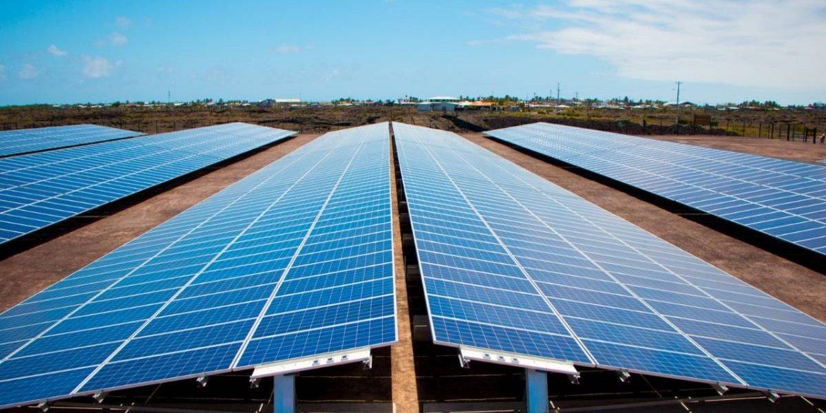 La Planta Fotovoltaica en la isla Isabela